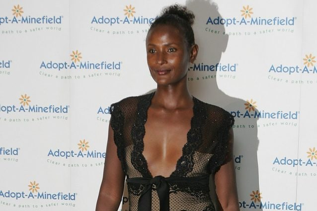 Waris Dirie, top model somala e ambasciatrice UNESCO