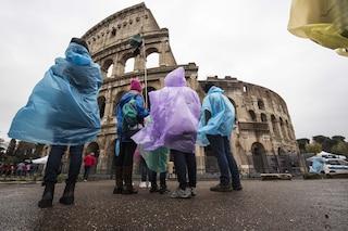 Maltempo, vortice ciclonico sull'Italia: temporali e crollo delle temperature