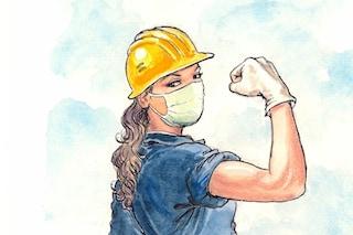 Le eroine del lockdown nelle illustrazioni di Milo Manara: ricavato andrà in beneficienza