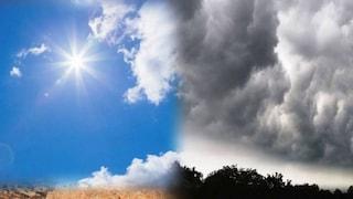 Previsioni meteo 13 maggio: Italia divisa in due, caldo africano a Sud, nuvole e piogge a Nord