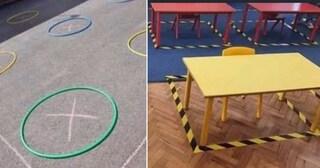Follia a scuola: bambini nei cerchi e se si fanno la pipi addosso devono cambiarsi da soli