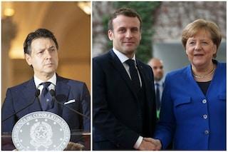 Recovery fund, Conte sente Merkel e Macron: negoziati in salita con i Paesi del Nord