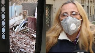 """Catania, palazzina crollata, la rabbia delle 14 famiglie sfollate: """"Le nostre vite interrotte"""""""