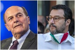 """Salvini contro Bersani: """"Frase su cimiteri pieni se noi al governo? Disgustosa, è un cretino"""""""