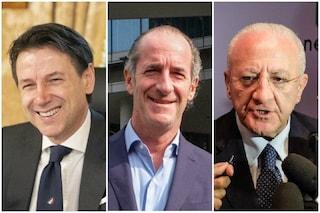 Sondaggi politici, Conte è il leader che gode di più fiducia: dietro di lui Zaia e De Luca
