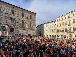 """""""Libere di scegliere"""", la protesta a Perugia contro obbligo di ricovero per aborto farmacologico"""