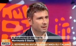 """M5s, Di Battista rassicura: """"Beppe è incavolato, ma non farò terremoti. Non è nel mio interesse"""""""