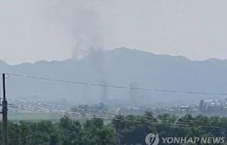 Tensione alle stelle tra le Coree: Pyongyang fa esplodere la sede diplomatica al confine con Seul