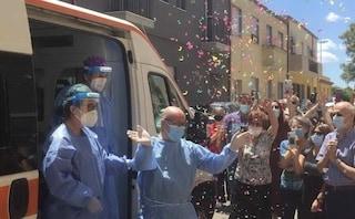Cagliari, dopo tre mesi (uno in rianimazione) Alessio sconfigge il virus e torna a casa