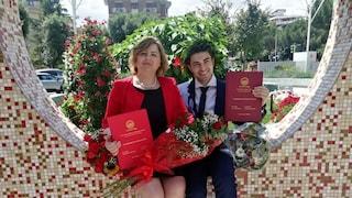 """Foggia, madre e figlio si laureano insieme: """"Emozione senza precedenti"""""""