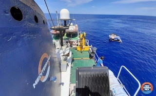 Barcone di migranti in difficoltà, Guardia costiera libica riporta indietro i naufraghi