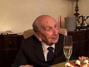 """Veneto in lutto: morto l'imprenditore-partigiano Aldo Tognana, """"re"""" delle ceramiche"""