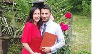 Marito e moglie si laureano nello stesso giorno: doppio 110 e lode per Noemi e Matteo