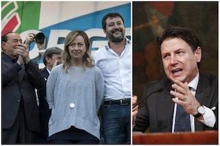 Conte invita il centrodestra a Palazzo Chigi: Meloni, Salvini e Berlusconi disponibili a incontro