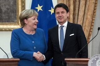 Recovery Fund, Conte sente Merkel: ancora tanti nodi in Ue (mentre in Italia si litiga sul Mes)
