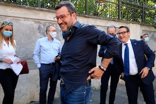 """Salvini replica a Berlusconi: """"La via maestra è il voto, no a giochini di palazzo"""""""
