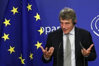"""Sassoli invita l'Italia ad aderire al Mes: """"È un'opportunità, ha tassi insuperabili"""""""