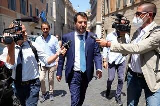 """Matteo Salvini: """"Non temo una condanna, conto ci sia giudice diverso da un Palamara qualunque"""""""