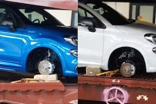 Rubate le ruote delle auto nuove sul treno merci partito dalla fabbrica di Melfi