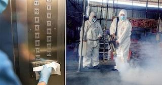 Coronavirus: contagia 71 persone dopo un viaggio di 60 secondi in ascensore, cosa è accaduto