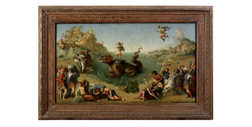 Piero di Cosimo, Perseo libera Andromeda