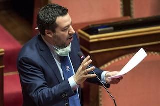 """Matteo Salvini: """"Conte sta mentendo al Paese, non c'è alcuna emergenza"""""""