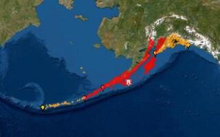 Violento terremoto in Alaska, scossa di magnitudo 7.8 della scala Richter: allarme tsunami