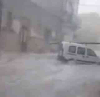 Maltempo nel catanese, una tromba d'aria scoperchia una casa di riposo a Scordia