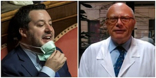 """L'infettivologo Galli contro Salvini: """"Lancia un messaggio pericoloso e senza basi scientifiche"""""""