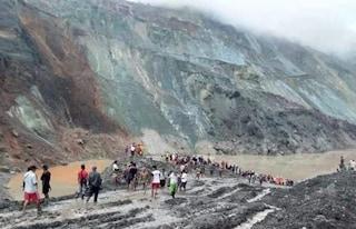 Myanmar, frana in una miniera di giada: almeno 113 morti