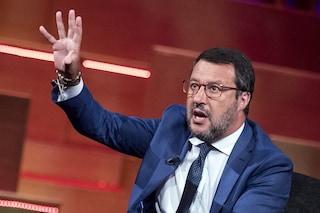 """Salvini si rifiuta di mettere la mascherina in Senato, Speranza lo attacca: """"È misura essenziale"""""""