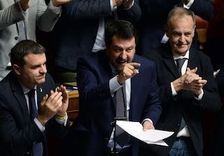 """Stato di emergenza, il 29 luglio parla Conte. Salvini: """"Se prorogano non li faccio uscire dall'Aula"""""""