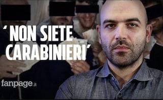 """Roberto Saviano sui militari arrestati alla caserma di Piacenza: """"Non siete carabinieri"""""""