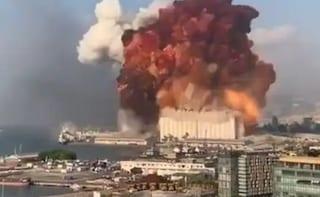 Beirut, due potenti esplosioni devastano la città: cinquanta morti e migliaia di feriti