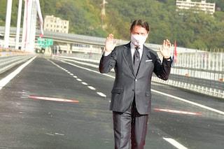 """Conte a due anni dal crollo del Ponte Morandi: """"Mai più una tragedia del genere"""""""
