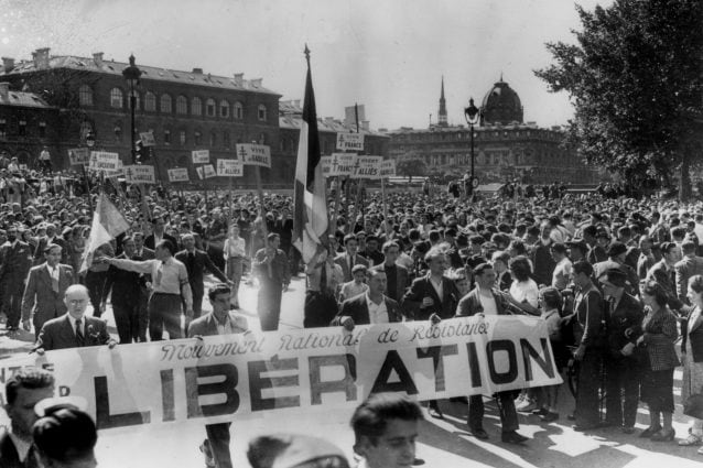 Liberazione di Parigi dai tedeschi nel 1944