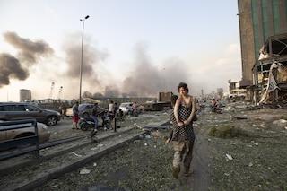 """Esplosione Beirut, un'italiana a Fanpage: """"La terra ha tremato, il cielo è diventato nero"""""""