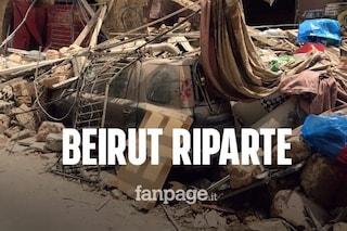 """Esplosione Beirut, cooperante italiano a Fanpage.it: """"Volontari al lavoro per togliere i detriti"""""""