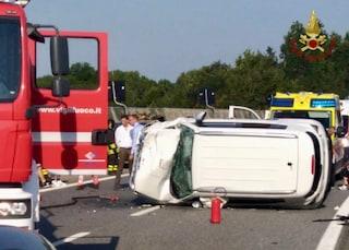 Incidente Cuneo, scontro tra tre auto: sette feriti, tra cui due bambini e traffico in tilt