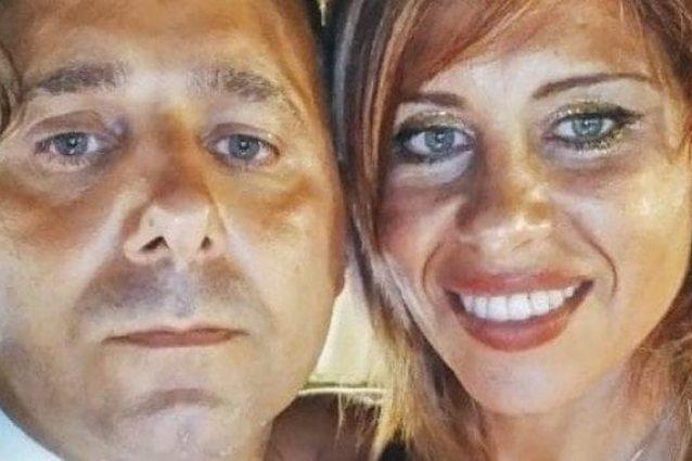 Viviana Parisi e il marito Daniele Mondello
