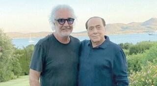 """Berlusconi positivo al Coronavirus, Briatore: """"Non l'ho contagiato io"""""""