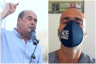 """Toscana, Zingaretti contro Ceccardi: """"Candida neofascisti con scritto Boia chi molla su mascherina"""""""