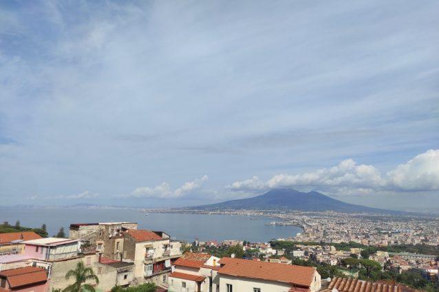 Il panorama dalla Reggia Quisisana a Castellammare di Stabia