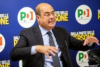 """Regionali, appello di Zingaretti agli elettori M5s: """"Pd unico argine alle destre, non buttate voti"""""""