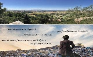 Macerata, la discarica rifiuti di Recanati sotto l'ermo colle che ispirò Giacomo Leopardi