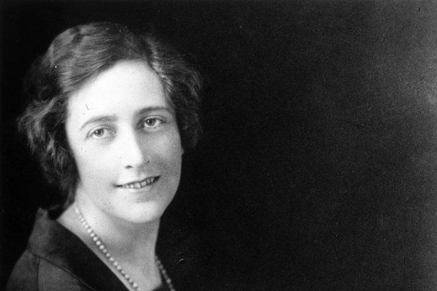 Agata Christie nel 1925