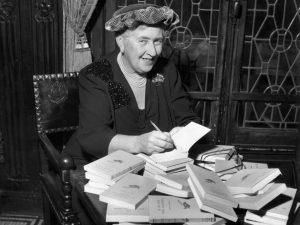 Agata Christie nel 1950