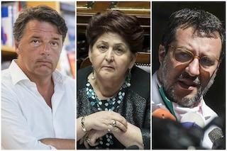 """Salvini definisce """"indegna"""" la ministra Bellanova. Renzi replica: """"È una persona piccola"""""""
