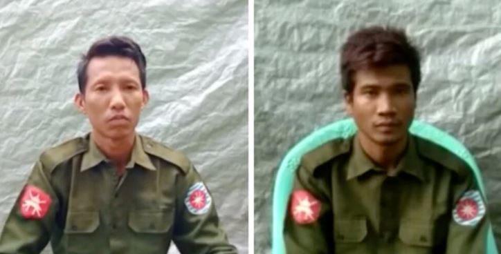 I due soldati birmani