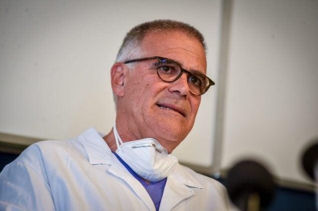 """Zangrillo: """"Un anno fa i pazienti Covid in ospedale erano il 50%, ora sono il 13%"""""""
